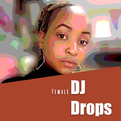 african female dj drops and beat tags